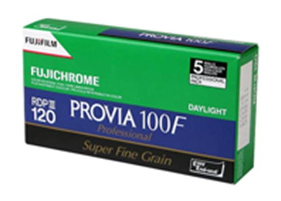 Afbeelding van Fuji Fujichrome Provia 100F 120 5 PACK art.nr. 2122153110