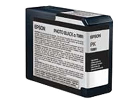 Afbeelding van Epson 3800 3880 Cartridge 80 ml T5801 Photo Black art.nr. 411283346