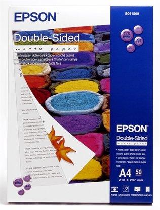 Afbeelding van Epson Double Sided Matte Paper A4 (210x297mm) 50 vel C13S041569 art.nr. 410704999