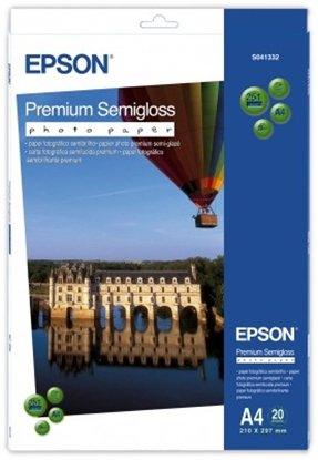 Afbeelding van Epson Premium Semi-Gloss Photo Paper 251gr. A4 20 vel C13S041332 art.nr. 410510296
