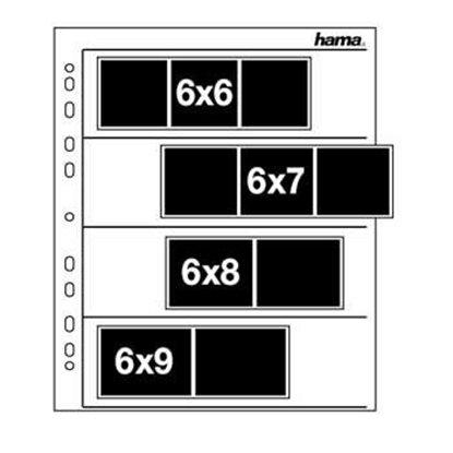 Afbeelding van Hama negatief bladen 6x6 pergamijn 100 vel Hama nr. 2259 art.nr. 41467