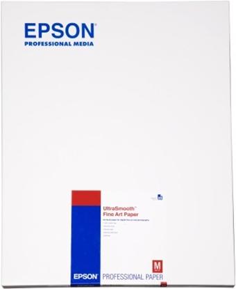 Afbeelding van Epson Ultra Smooth Fine Art Paper 325gr. A2 (420mm x 584mm) 25 vel C13S042105 art.nr. 411283216