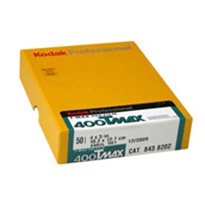 Afbeelding van Kodak Vlakfilm T-Max 400 TMY 4x5 inch 50 vel zwartwit art.nr. 8438202