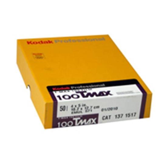 Afbeelding van Kodak Vlakfilm T-Max 100 Pro 8x10 inch 10 vel art.nr. 1673029