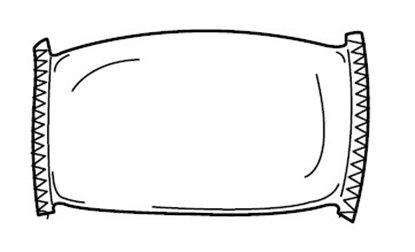 Afbeelding van Dry Cleaning Pad (voor het reinigen van een passepartout) art.nr. 232020