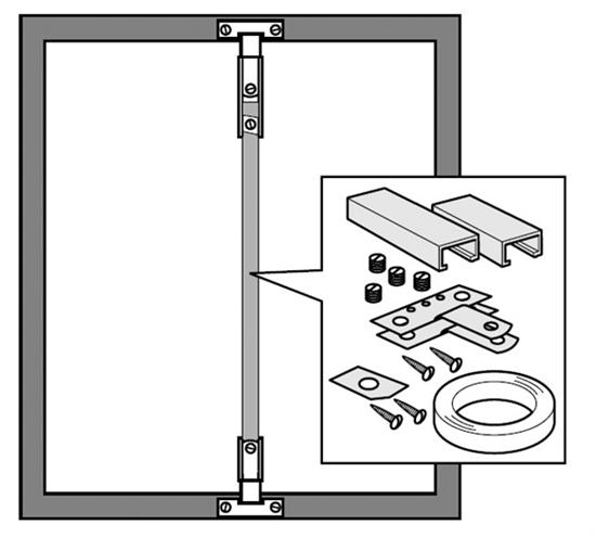 Afbeelding van Lijst-versterker. Voor het versterken van houten of aluminium lijsten art.nr. 15699