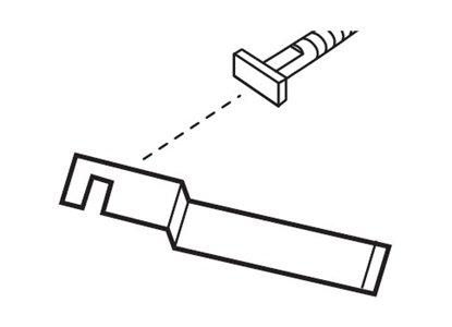 Afbeelding van Special sleutel voor Antidiefstalset  art.nr. 40394