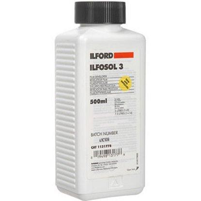 Afbeelding van Ilford Ilfosol 3 zwart/wit filmontwikkelaar 500 ml art.nr. 1871748