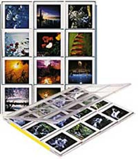 Afbeelding van Archivtechnik Kunze Journal Diaopbergcassette J-12 7x7 art.nr. 50740