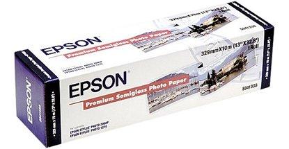 Afbeelding van Epson Premium Semi-Gloss 251gr. Roll 32,9cm x 10mtr C13S041338 art.nr. 410517223