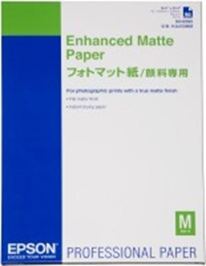 Afbeelding van Epson Enhanced Matte Paper 189gr. A4 250 vel C13S041718 art.nr. 411106503
