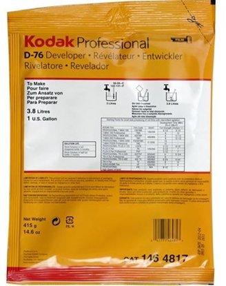 Afbeelding van Kodak D-76 developer filmontwikkelaar voor 3,8 liter CAT 1464817 art.nr. 67199