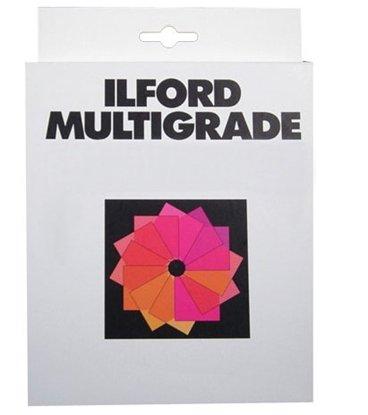 Afbeelding van Ilford Multigrade filter set 8,9x8,9cm 12 filters art.nr. 1839621