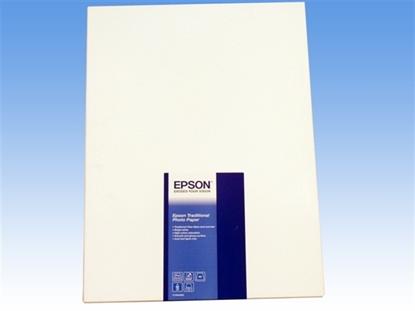 Afbeelding van Epson Paper Traditional Photo A2 25sheet C13S045052 art.nr. 411431756