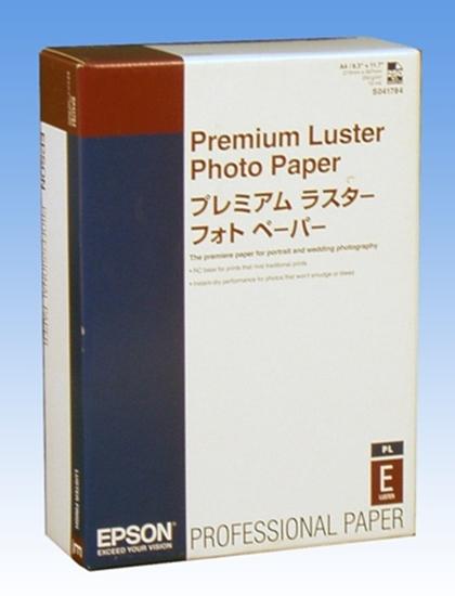 Afbeelding van Epson Premium Luster Photo Paper 250gr. A4 250 vel C13S041784 art.nr. 411106506