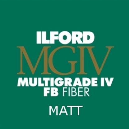 Afbeelding van Ilford Bariet MGFB5K 20,3x25,4 cm 100 vel Classic Fiber Mat art.nr. 1833919