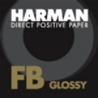 Afbeelding van Ilford Harman Direct Positive Paper FB1K Fiber Based Glans, 62cmx20mtr art.nr. 10205
