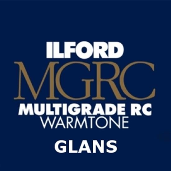 Afbeelding van Ilford MGT.1M 12,7x17,8 cm 100 vel Multigrade Warmtone Glans art.nr. 1902239