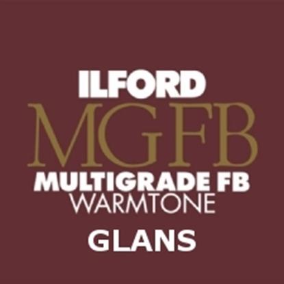 Afbeelding van Ilford Bariet MGW.1K 20,3 x 25,4 cm 25 vel Multigrade Fiber Warmtone Glans art.nr. 619130931