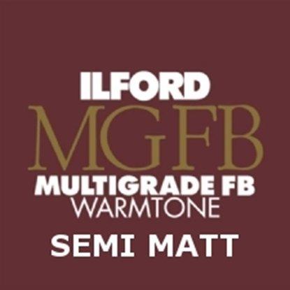Afbeelding van Ilford Bariet MGW.24K 20.3 x 25.4 cm 25 vel Multigrade Fiber Warmtone Halfmat art.nr. 619130935