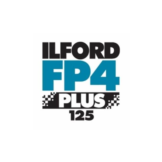 """Afbeelding van Ilford Vlakfilm zwartwit FP4 Plus 5x7"""" 25 vel art.nr. 1678398"""
