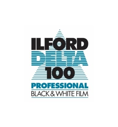 "Afbeelding van Ilford Vlakfilm zwartwit Delta 100 8x10"" 25 vel art.nr. 1743490"