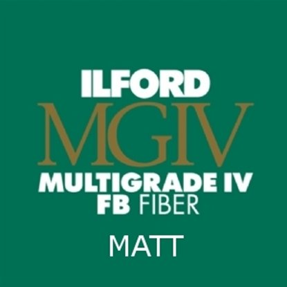 Afbeelding van Ilford Bariet MGFB5K 17,8x24 cm 25 vel Classic Fiber Mat art.nr. 6004752