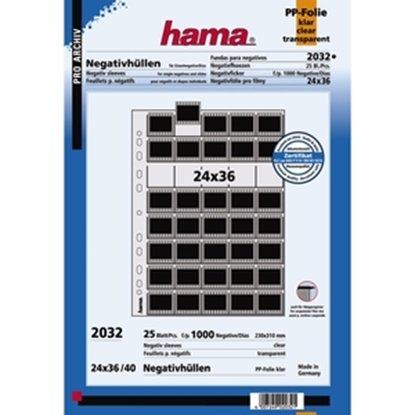 Afbeelding van Hama negatief bladen helder 25 vel voor losse dia's Hama 2032 art.nr. 10206