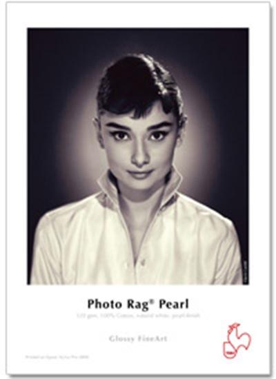 Afbeelding van Hahnemuehle Photo Rag Pearl 320 gr. A2 25 vel. Natuurwit, Pearl Coating art.nr. 365600758