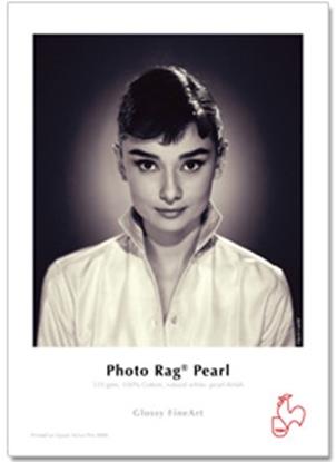 Afbeelding van Hahnemuehle Photo Rag Pearl 320 gr. 17inch (432mm) x 12mtr. Natuurwit, Pearl Coating art.nr. 365604929