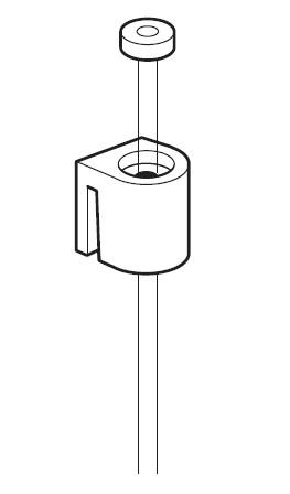 Afbeelding van Arti Teq Perlondraad met glijder lengte 150cm type 9.4425 art.nr. 5746