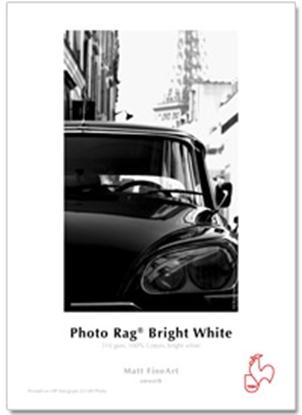 Afbeelding van Hahnemuehle Photo Rag Bright White 310 gr. 36 inch (914mm) x 12 mtr. Helder Wit Mat art.nr. 1048