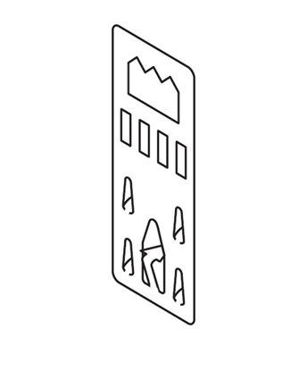 Afbeelding van Foam-board hanger 10 stuks, 135010 art.nr. 12698