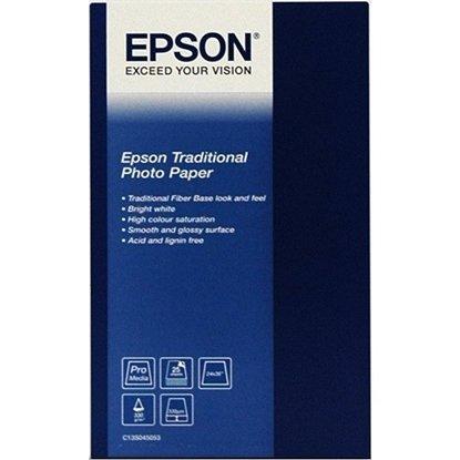Afbeelding van Epson Paper Traditional Photo Paper A3+ (329x483mm) 25 vel C13S045051 art.nr. 10118