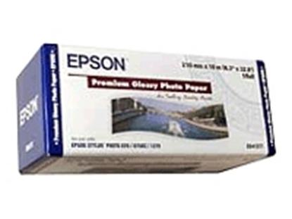 Afbeelding van Epson Premium Glossy Photo Paper 255gr. Roll 210cm x 10m Gloss C13S041377 art.nr. 410537185