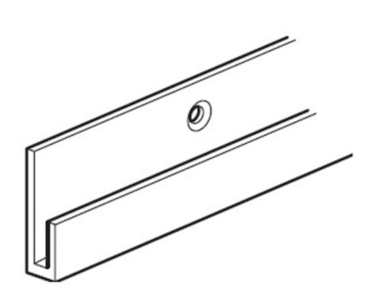 Afbeelding van Arti Teq Ophangrail Plus WIT type 9.4319 lengte 300 cm art.nr. 46012801