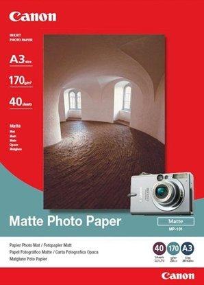 Afbeelding van Canon MP-101 A3 Matte Photo Paper 170gr. 40 vel art.nr. 410885105