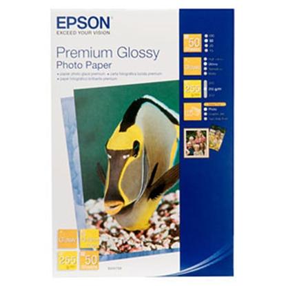 Afbeelding van Epson Premium Photo Glossy Paper 255gr. 10x15  100 vel Gloss C13S041822 art.nr. 410945845
