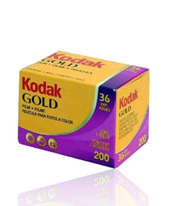 Afbeelding van Kodak Kleinbeeld Gold 200 135-36 art.nr. 88748