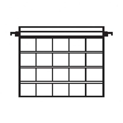 Afbeelding van Kenro hangmappen voor 24 ingeraamde kleinbeelddia's 10 stuks art.nr. 25031000