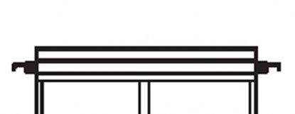 Afbeelding van Kenro stalen staven voor hangmappen 10 stuks lengte 39cm art.nr. 25031001