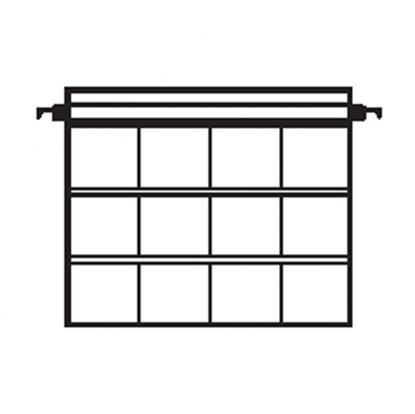 Afbeelding van Kenro hangmappen voor 12 ingeraamde 6x6 dia's 10 stuks art.nr. 619130944