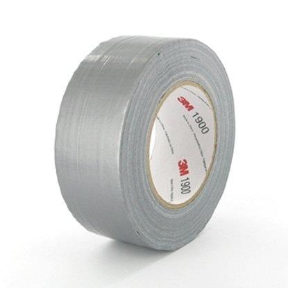 Afbeelding van 3M Duct Tape 1900 50mm x 50mtr GRIJS art.nr. 1118686