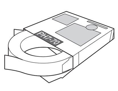 Afbeelding van PH7-70 Zuurvrije tape 19mm x 30 mtr voor transfertape houder art.nr. 8304297