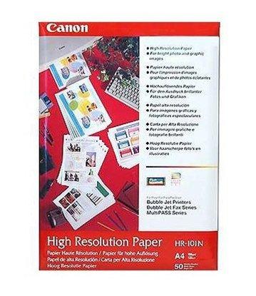 Afbeelding van Canon HR-101N A4 / High Resolution Paper 50 vel 106 gr. art.nr. 410672406