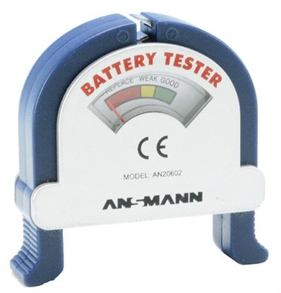 Afbeelding van Ansmann Batterijentester art.nr. 2862250