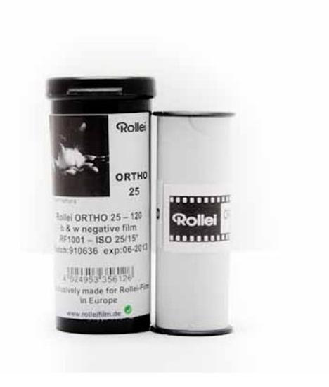 Afbeelding van Rollei Rolfilm Ortho 25 ISO 120 art.nr. 8067407