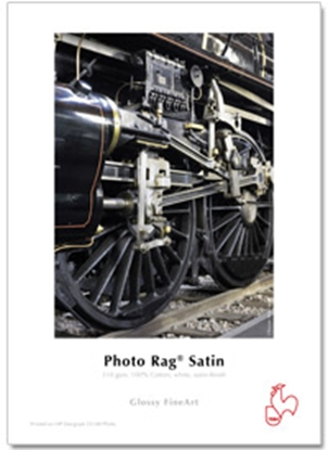 Afbeelding van Hahnemuehle Photo Rag Satin 44 inch x 12 mtr. ROL 310gr Zijdeglans art.nr. 619131052