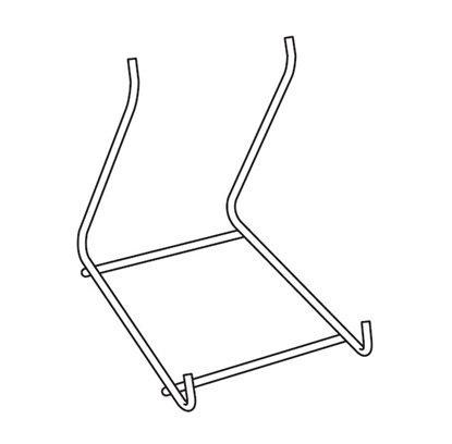 Afbeelding van Lijstenstandaard metaal hoogte 95 mm art.nr. 31114