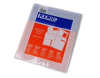 Afbeelding van Kenro negatief bladen kleinbeeld acetaat 100 vel. Kenro nr. KEKNF17 art.nr. 53678